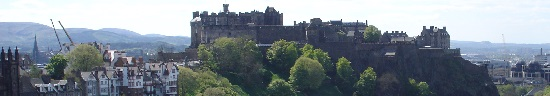 Scotland Castles Map Page Edinburgh Castle image