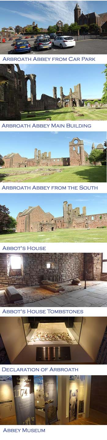 Arbroath Abbey Images