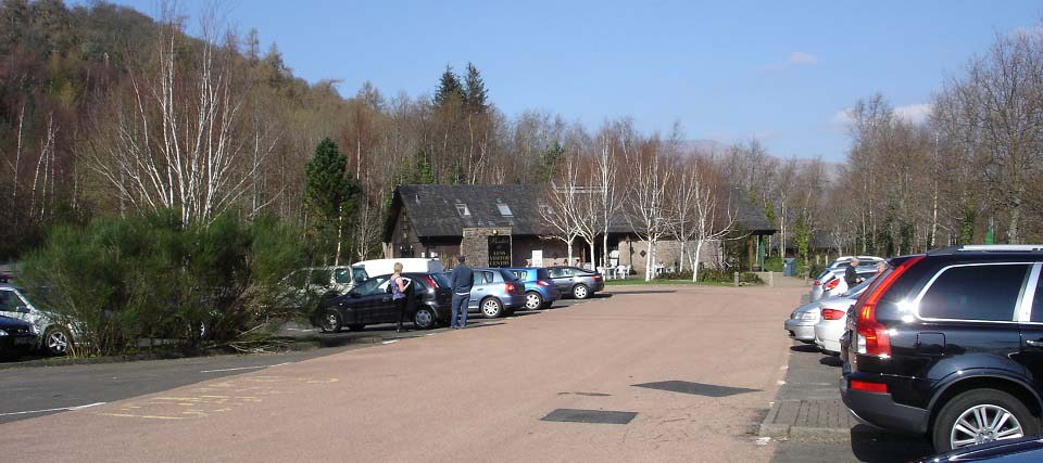 Luss Visitor Centre car park image