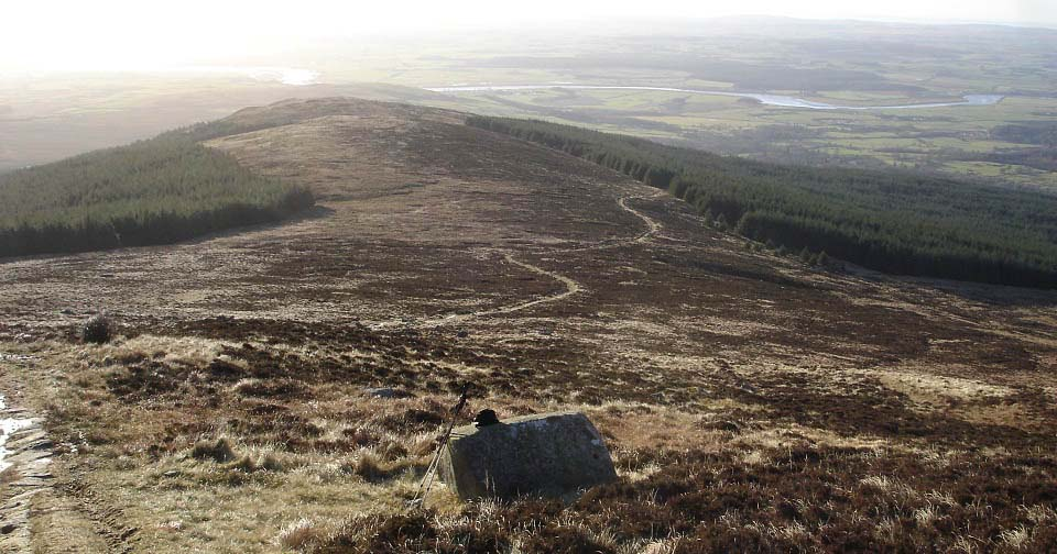 Cairnsmore of Fleet view down image