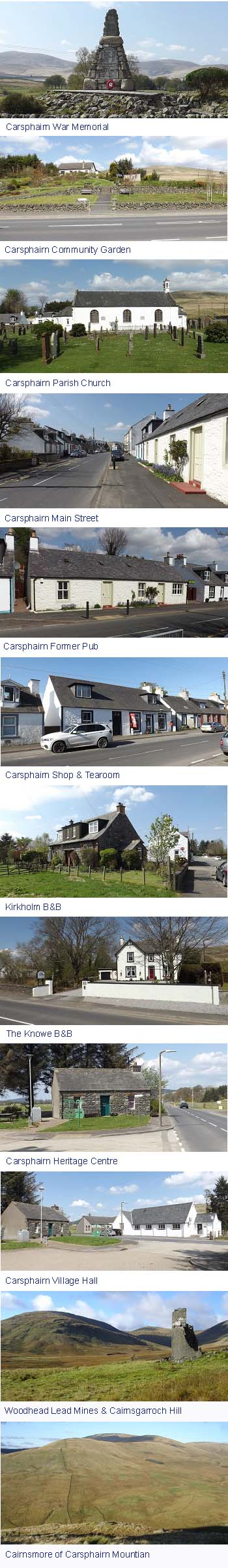 Carsphairn Images