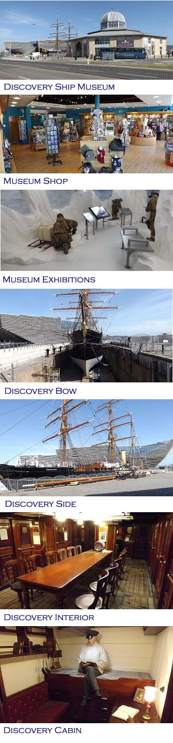Discovery Ship Museum Dundee Photos