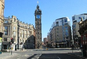 Glasgow Cross Tolbooth Steeple image