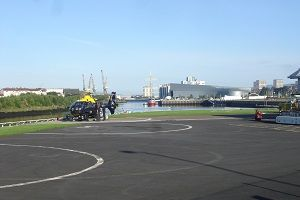 Glasgow Police Helicopter Base image