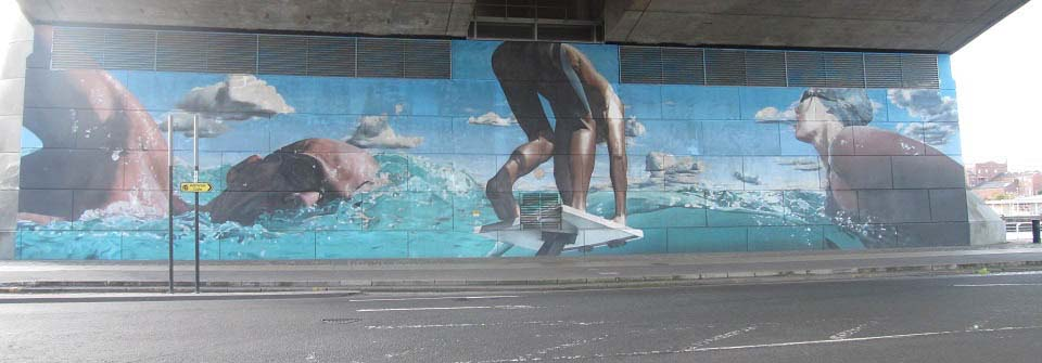 Kingston Bridge Street Art Glasgow image