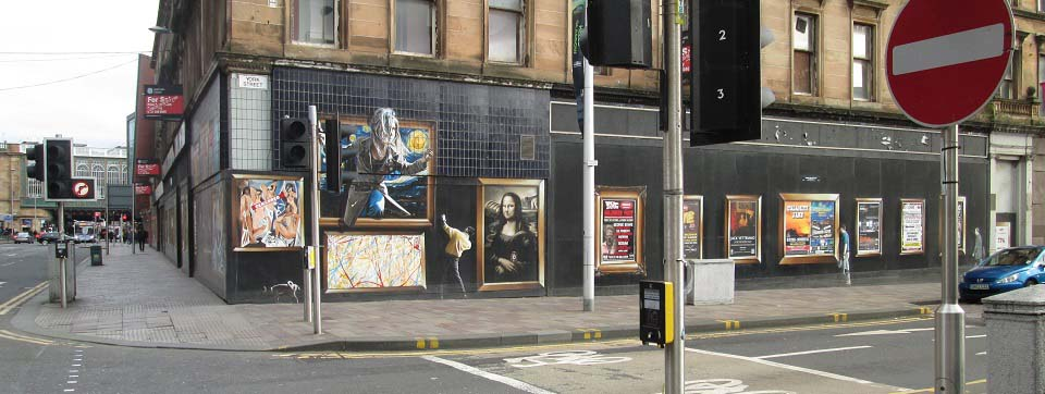 York Street Glasgow Art image