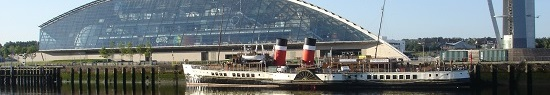 Glasgow Boat Trips Waverley Paddle Steamer at Glasgow