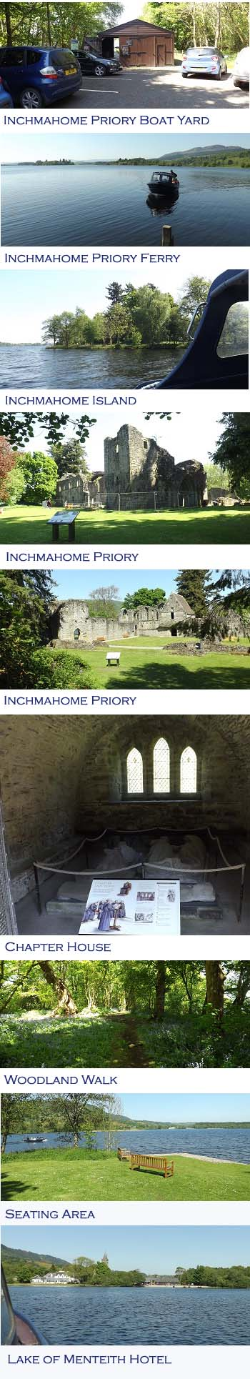Inchmahome Priory Photos