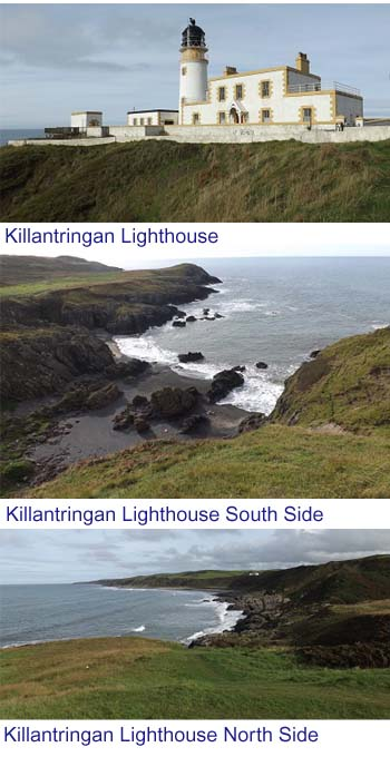 Killantringan Lighthouse Images