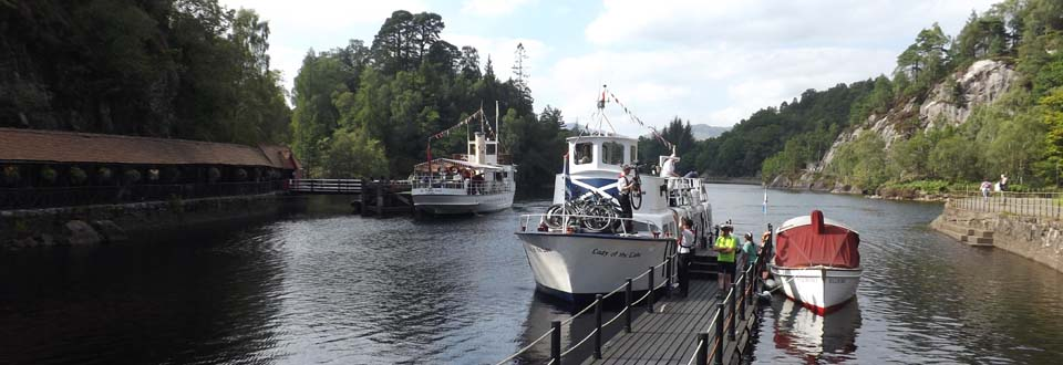Loch Katrine Boat Tours image