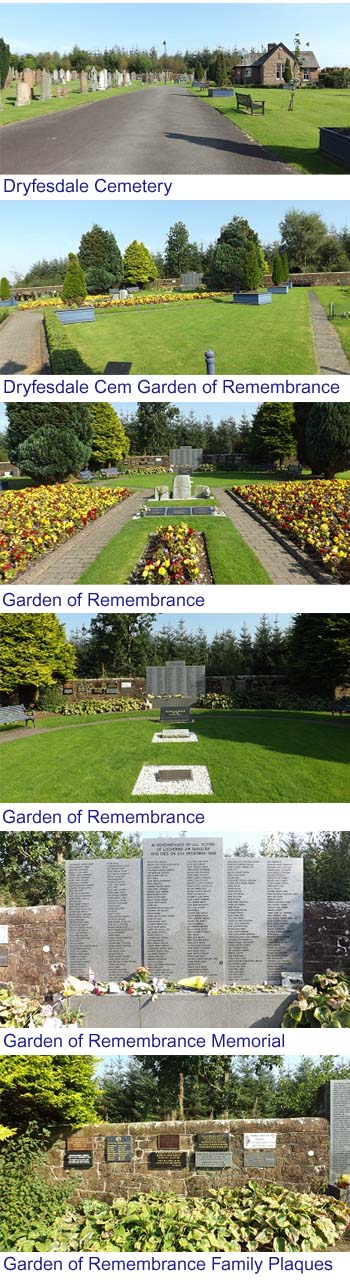 Lockerbie Garden of Remembrance Images
