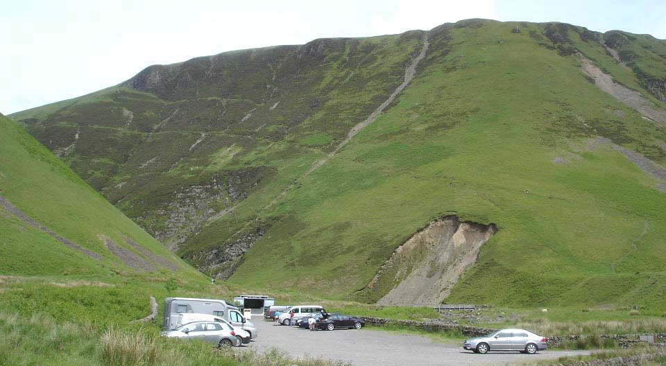 Grey Mares Tail car park image