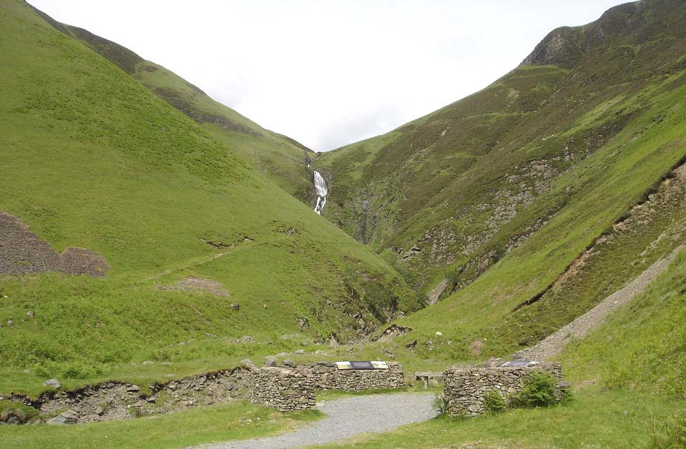 Grey Mares Tail waterfalls image