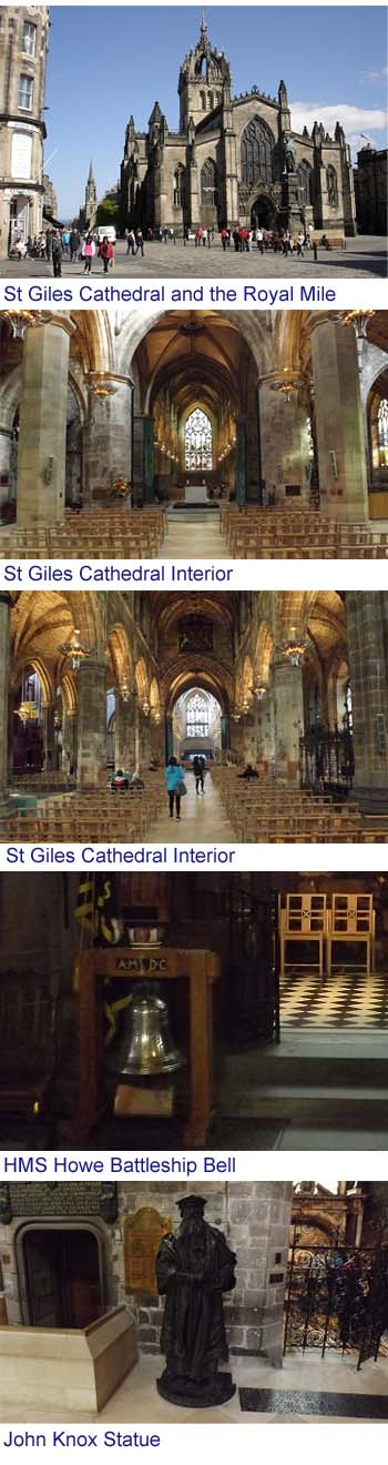 St Giles Cathedral Edinburgh images