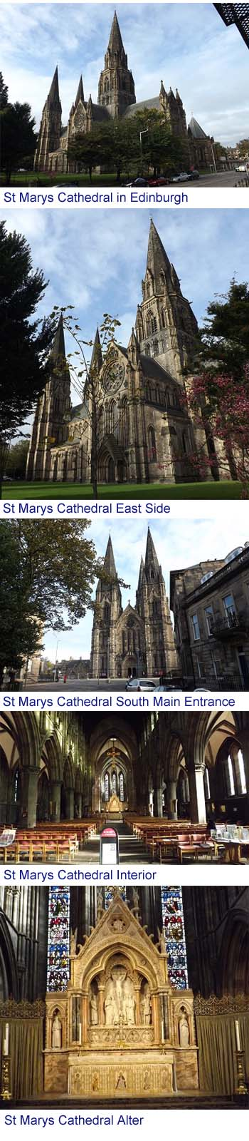 St Marys Cathedral Edinburgh Images