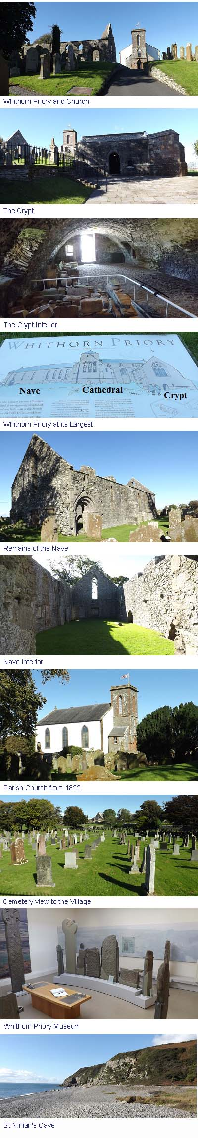 Whithorn Priory Images